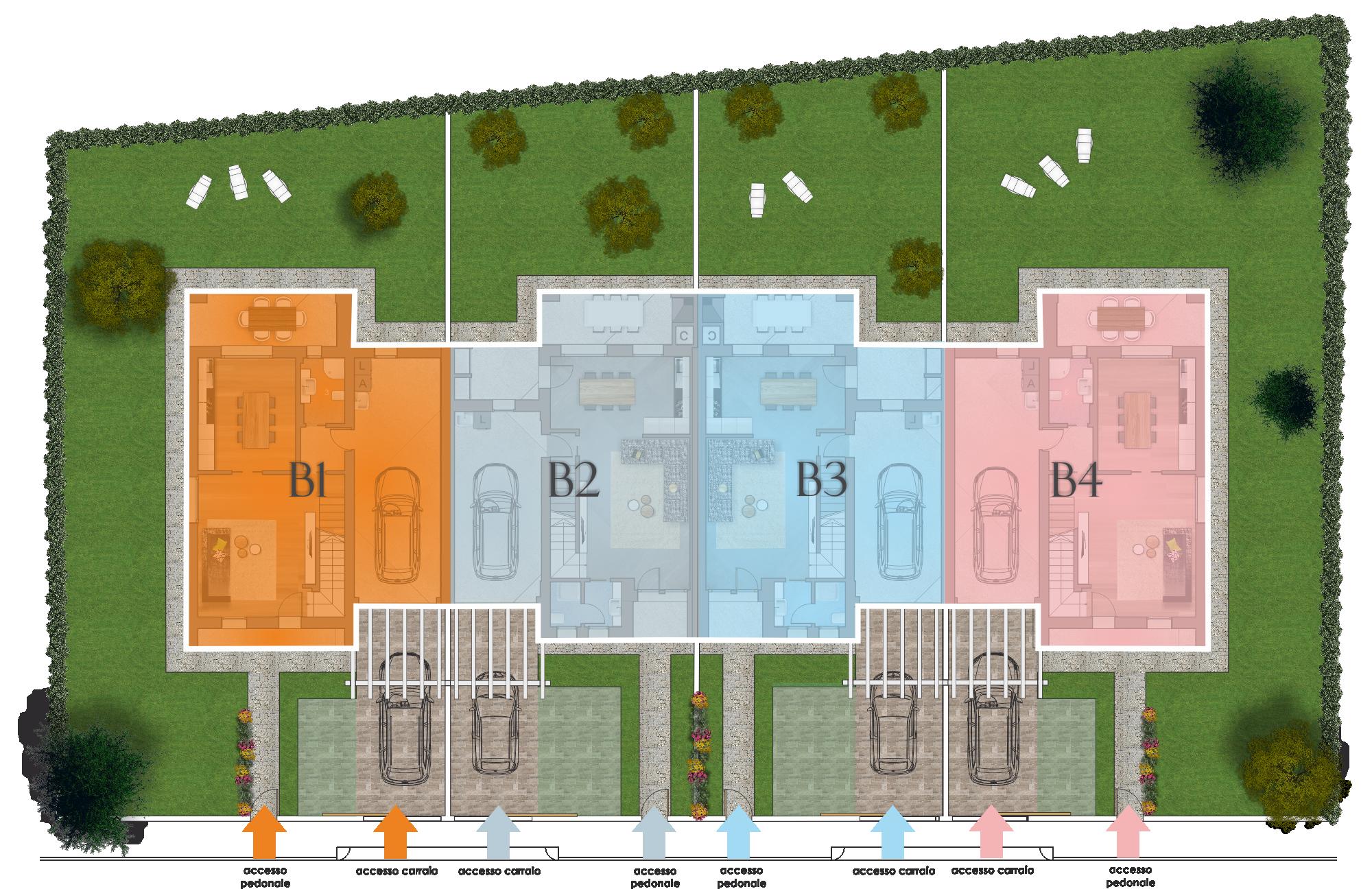 Lotto 5b res azalea lottizzazione i giardini for Sistemazione giardino